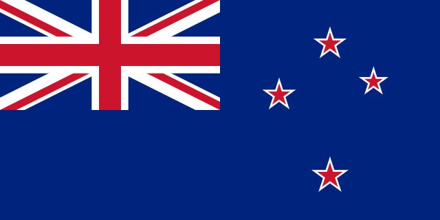 Bandera de NUEVA-ZELANDA